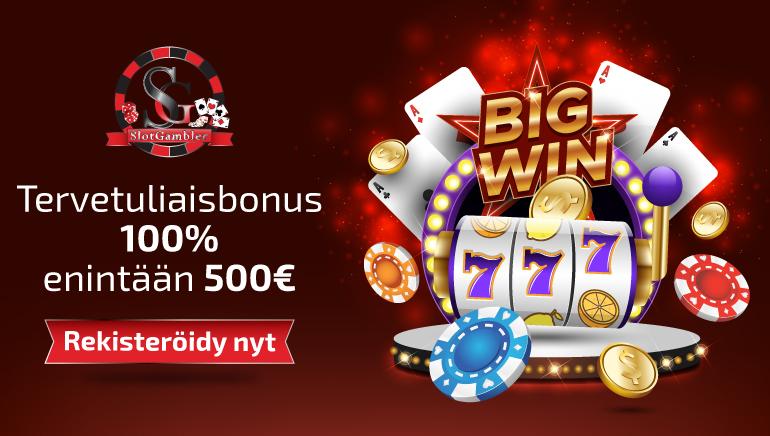 Slotgambler Casino Nostaa Rimaa 100% Bonuksen 500 Asti