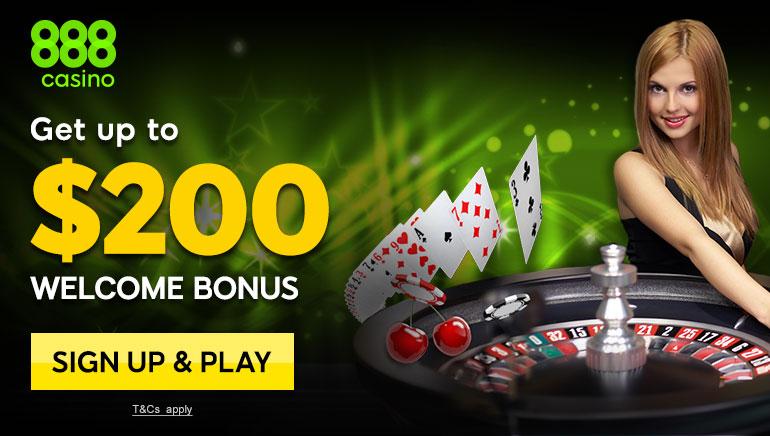888 Casinon mahtavat kasinopelit ja tervetuliaisbonus keräävät kehuja pelaajilta