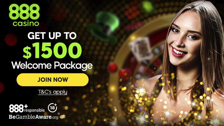 888 Casino omii parrasvalot vuonna 2020