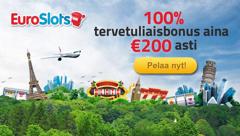 EuroSlots tarjoaa bonuksia uusien pelejen julkaisun yhteydessä