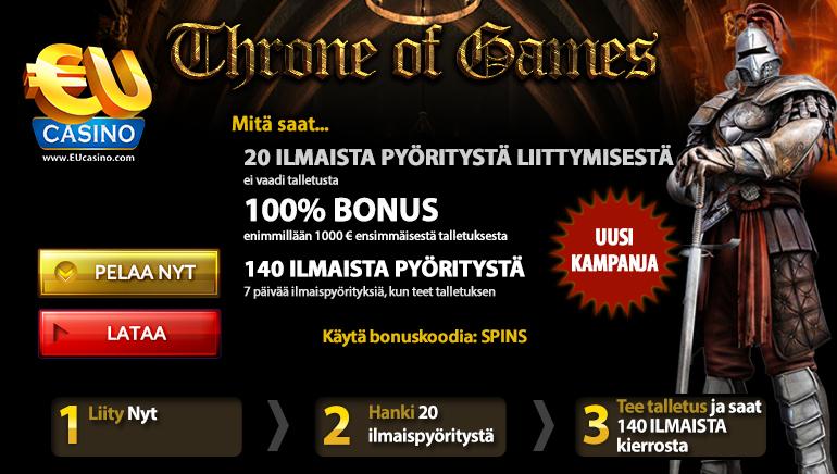 Thrones of Games – Kuumin Kolikkopelikampanja, josta kaikki puhuvat