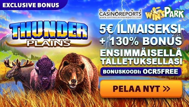 WinSpark Sytyttää Aktiviteettien Tulimyrskyn Thunder Plains Promollaan