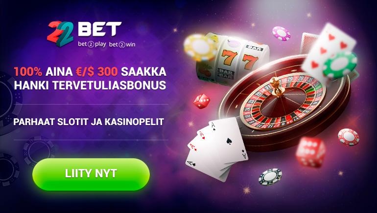 100% jopa 300 € / $ tervetuliaisbonus - parhaat kolikkopelit ja kasinopelit