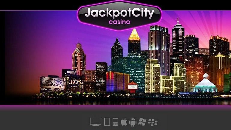 JackpotCityn kevättarjous