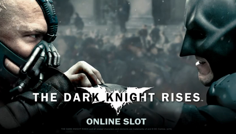Batman: The Dark Knight pian online-kasinoilla
