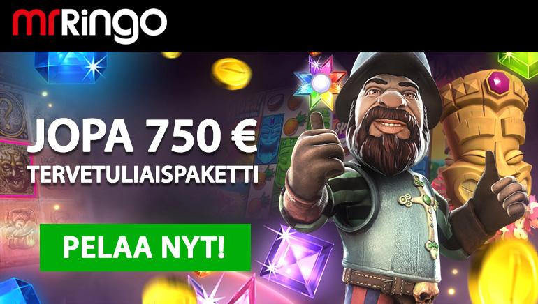 Testaa Mr Ringo Casinon mahtavia videoslotteja valtavan tervetulobonuksen av