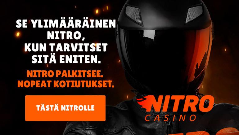 NitroCasino Näyttää Tietä Nitro Rewardsien ja Nopeiden Kotiutusten kautta