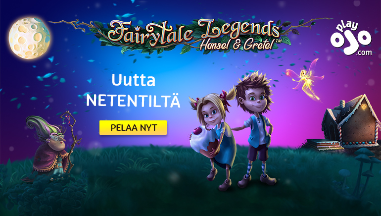 Nauti Hansel & Gretelistä sekä vaikuttavasta NetEnt-pelivalikoimasta PlayOJOlla