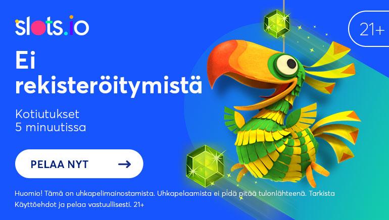 Ei Odotusta & Ei Hömpötyksiä: Pelaa Ilman Odottamista Slots.io:lla