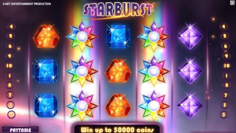 Cherry Casino Mainostaa Starburst-peliä Ilmaiskierroksilla