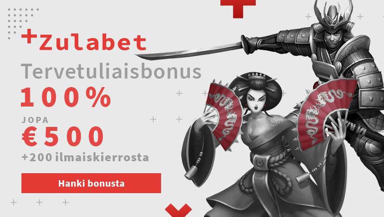 Zulabet Casino tarjoaa uusille pelaajille 500€ bonusta ja 200 ilmaiskierrosta