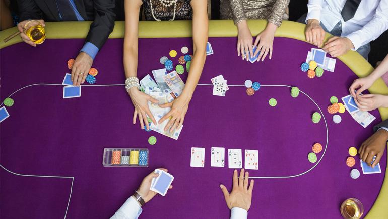Online pokeri